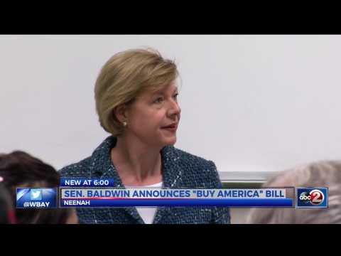 WBAY:  Sen. Baldwin Announces Buy America Bill