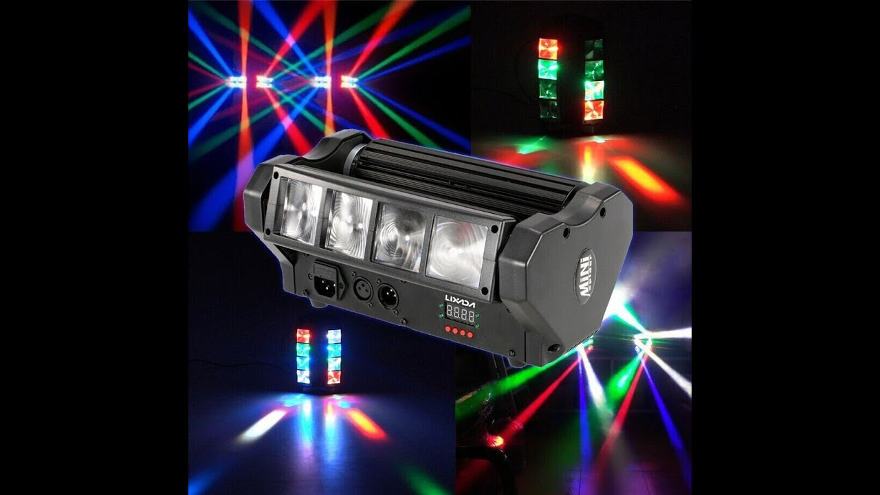 60W Bühnenbeleuchtung Gobo LED RGBW Moving Head DJ Club DMX512 Disco Party Licht