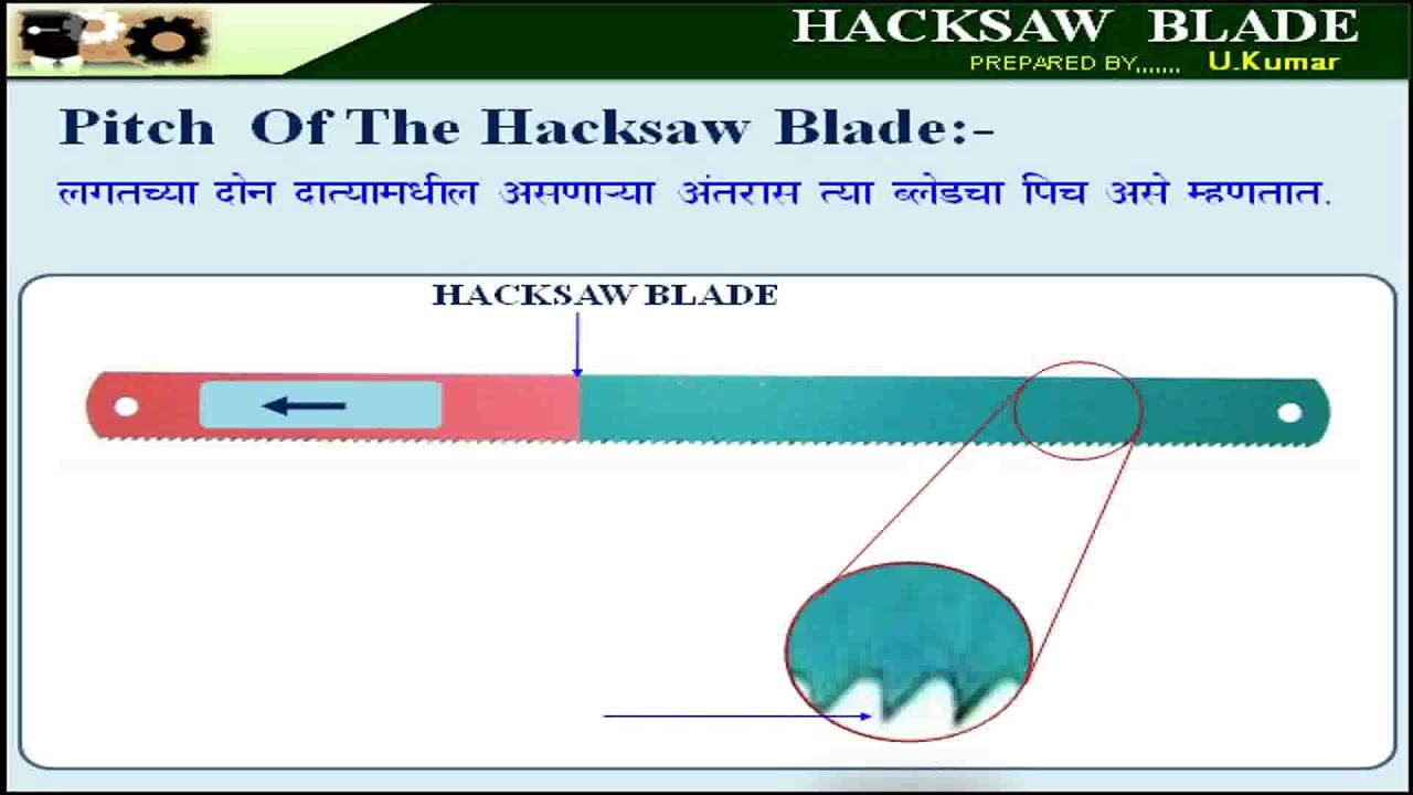Fitter lesson no 18 hacksaw blade youtube 18 hacksaw blade youtube greentooth