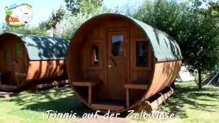 Campingplatz Liebeslaube - Camping-Schlaffässer