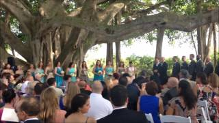 The Wedding of Kristina and Erico at Jupiter Lighthouse