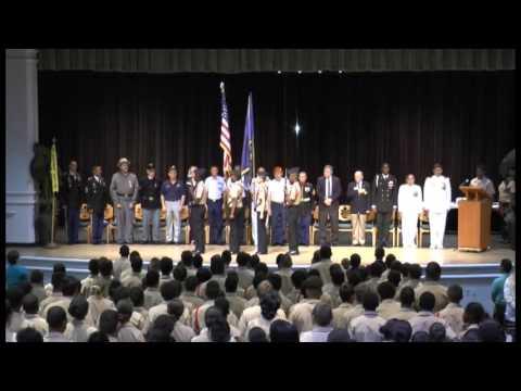 Awards Ceremony Nova High School NJROTC Part 1