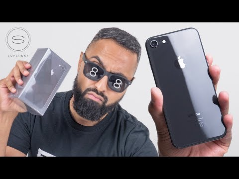 iPhone 8 SPACE GRAY Unboxing