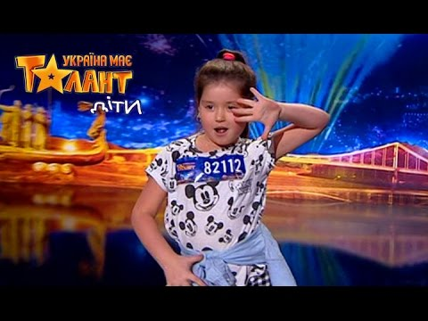7 years old girl loves to dance. See what she can! - Got Talent 2017