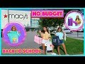 NO BUDGET BACK TO SCHOOL CLOTHING SHOPPING / JUSTICE/MACY'S/THE CHILDREN PLACE / TARGET