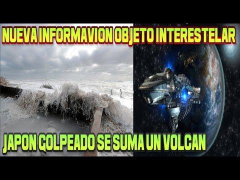 Objeto Interestelar Nueva información / Japón no Descansa / Cielo Rosa Chile / Pronostico Clima