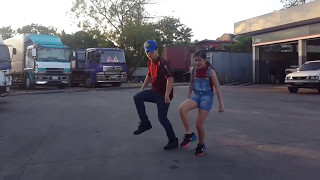 Mr Chif El Prototipo - Shape Of You (Spanish) Siblings Dance | Ranz and Niana