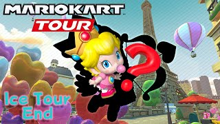 Valentin's Tour Next & Angel Baby Peach?? + 100 combos on Vanilla Lake!! Mario Kart Tour
