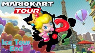 Valentin's Tour Next & Angel Baby Peach?? + 100 combos on Vanilla Lake!! Mario Kart Tour