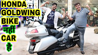 Most costly bike by Goldy bhaiya Super bike world | Honda Goldwing for sale | ENGINEER SINGH