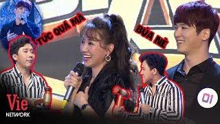 Trấn Thành đập muốn BUNG CÂY BÚA khi thấy Hari Won ngã vào lòng trai đẹp Hàn Quốc l Giọng Ca Bí Ẩn