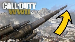 COD WW2 - How to Get on Top of the Gustav Cannon