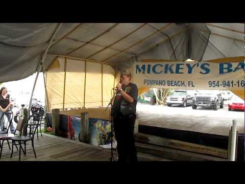 THE PRAYER SERVICE FOR DAVE CARTER & HIS FAMILY AT MICKEY'S BAR POMPANO BCH FL FEB 5th 2012