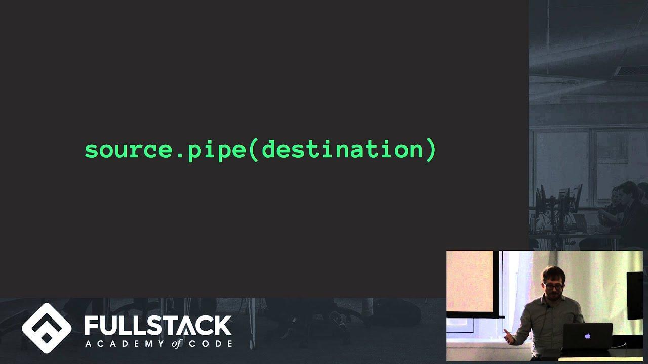 Node js Stream Tutorial - The Power and Simplicity of Node js Streams
