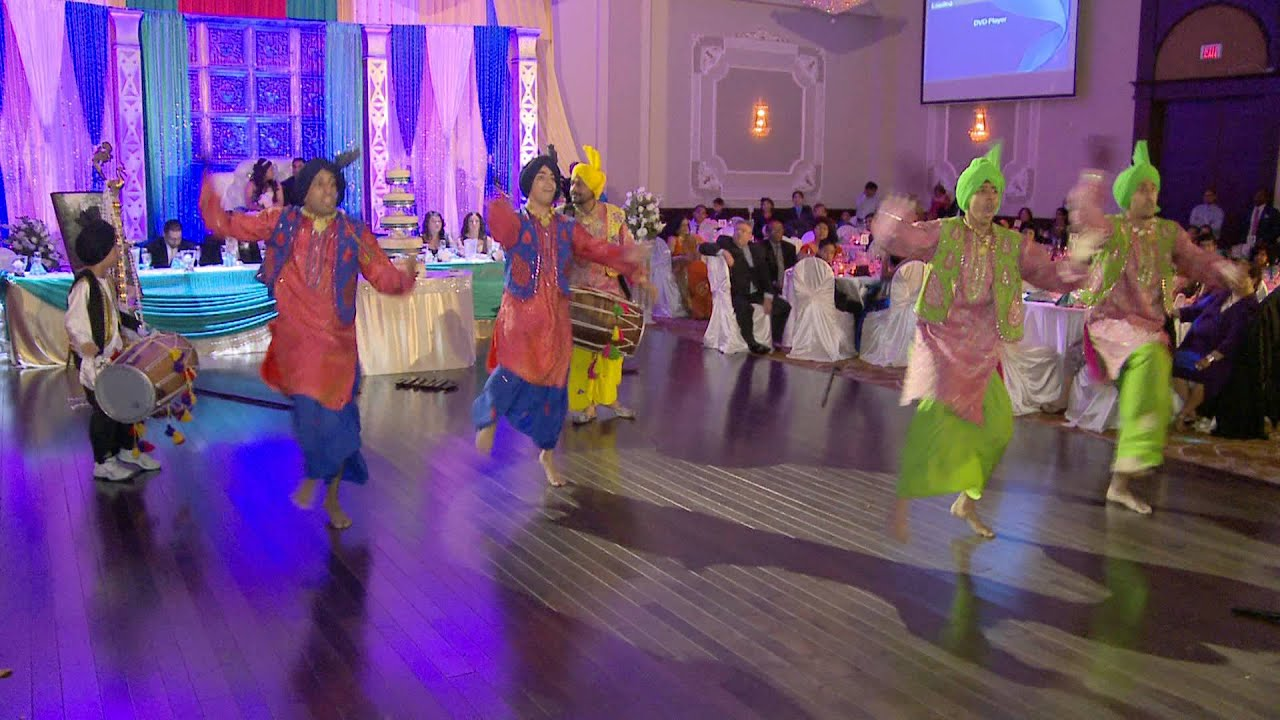 25th wedding anniversary punjabi dance performance nyc