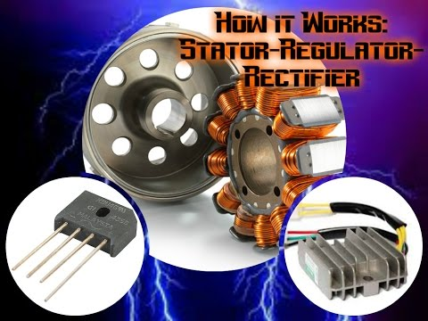 How a Motorcycle Works Ep. 1: The Stator, Regulator, and Rectifier
