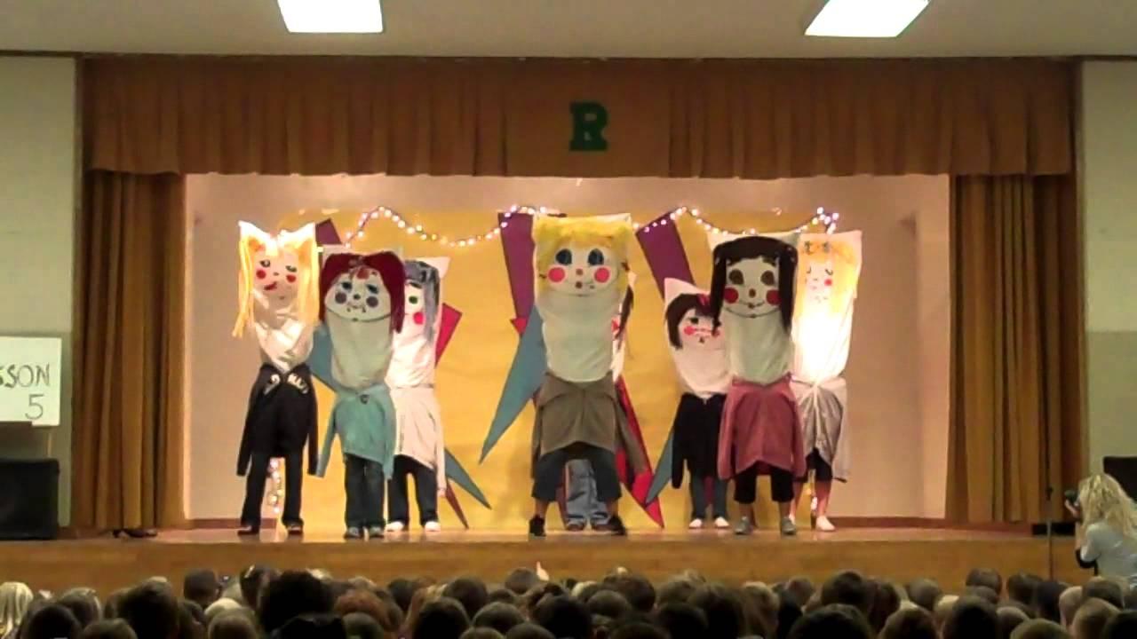 Pillow People - RVES Teacher Talent Show 2011 - YouTube