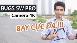 Review Flycam Mjx Bugs 5W Pro Mới Ra Mắt Camera 4k - JOLAVN