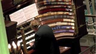 Wanamaker Organ Day 2012 - Wagner Funeral March from the Ring Cycle