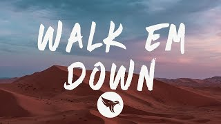 NLE Choppa - Walk Em Down (Lyrics) Feat. Roddy Ricch