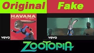 Camila Cabello - Havana ft. Young Thug Zootopia Original vs Fake