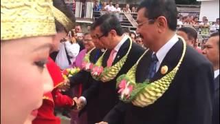 Menkumham RI Resmikan Persidangan Majelis Sinode BNKP Ke-58 Tahun 2017 di Kabupaten Nias Utara