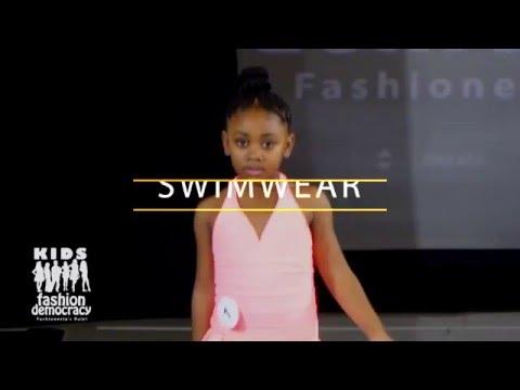 KIDS Fashion Democracy 2016 Winter Show 4 TO 8 Year Old Swimwear Category