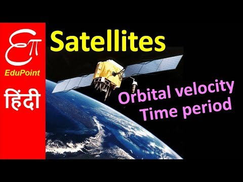 SATELLITE - Orbital Velocity and Time Period | in HINDI