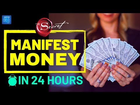 24 HOURS EXPERIMENT Attract Money in 24 Hours using Law of Attraction MONEY MANIFESTATION TECHNIQUE