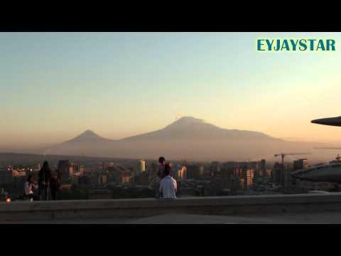Panorama Of Mount Ararat. Yerevan, Armenia.