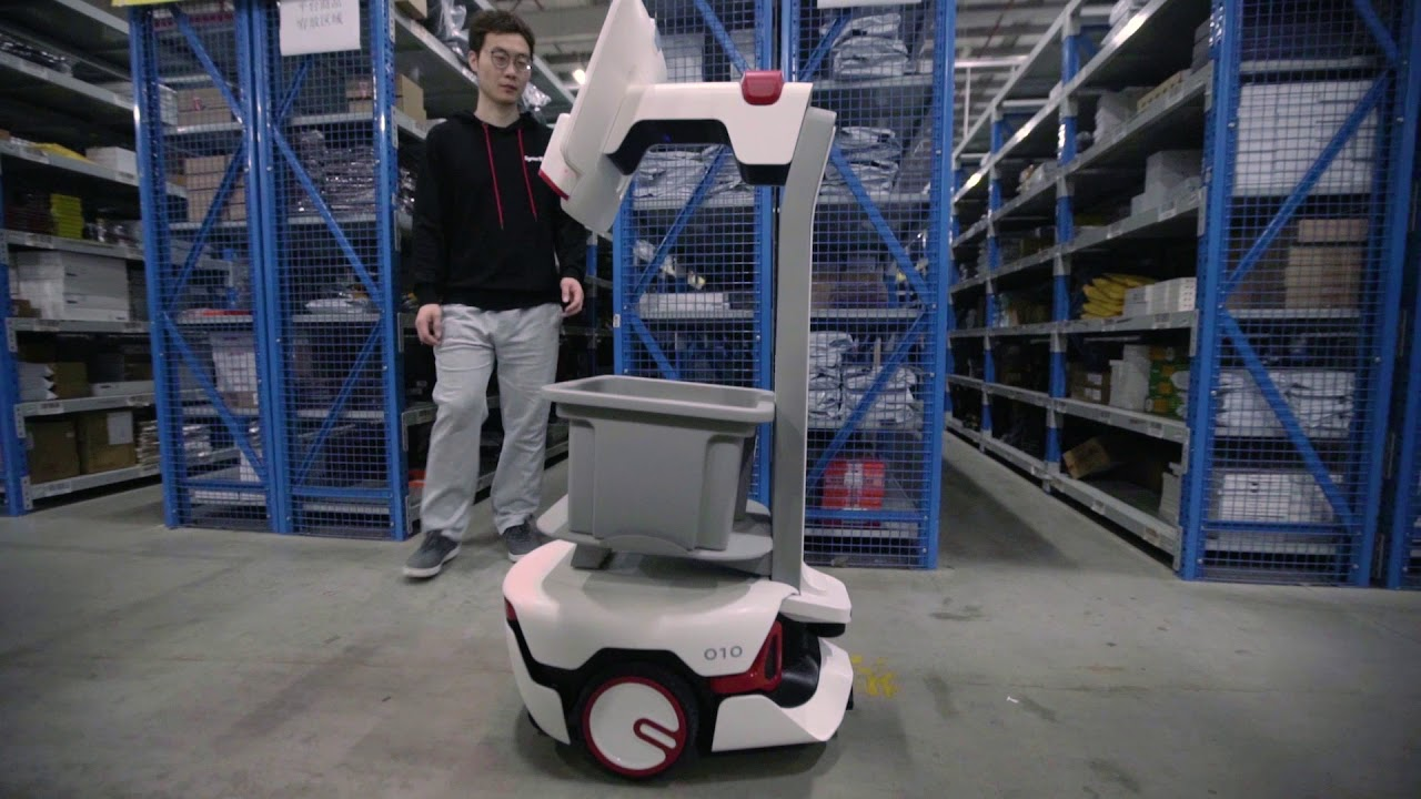 Chinese startup Syrius Robotics builds warehouse robots with