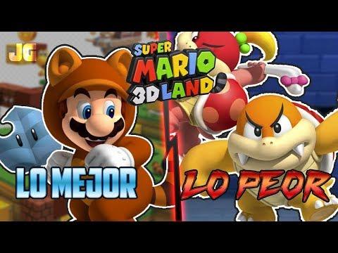 Lo Mejor y Lo Peor: Super Mario 3D Land