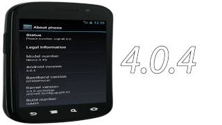 Android 4.0.4 ICS LEAKED For Nexus S 4G Variant Build IMM26! Google's Baby Smartphone!