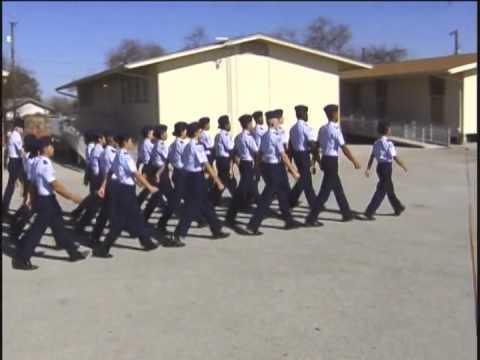 jrotc drill demonstration