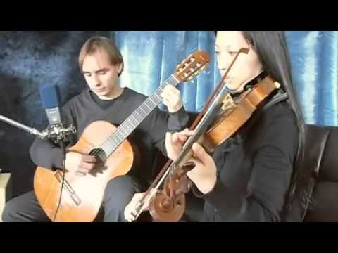 Canon in D by Johann Pachelbel for Violin and Classical Guitar Duet