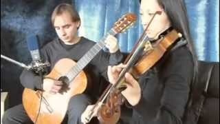 Canon in D by Johann Pachelbel for Violin and Guitar - live wedding ceremony music in Toronto