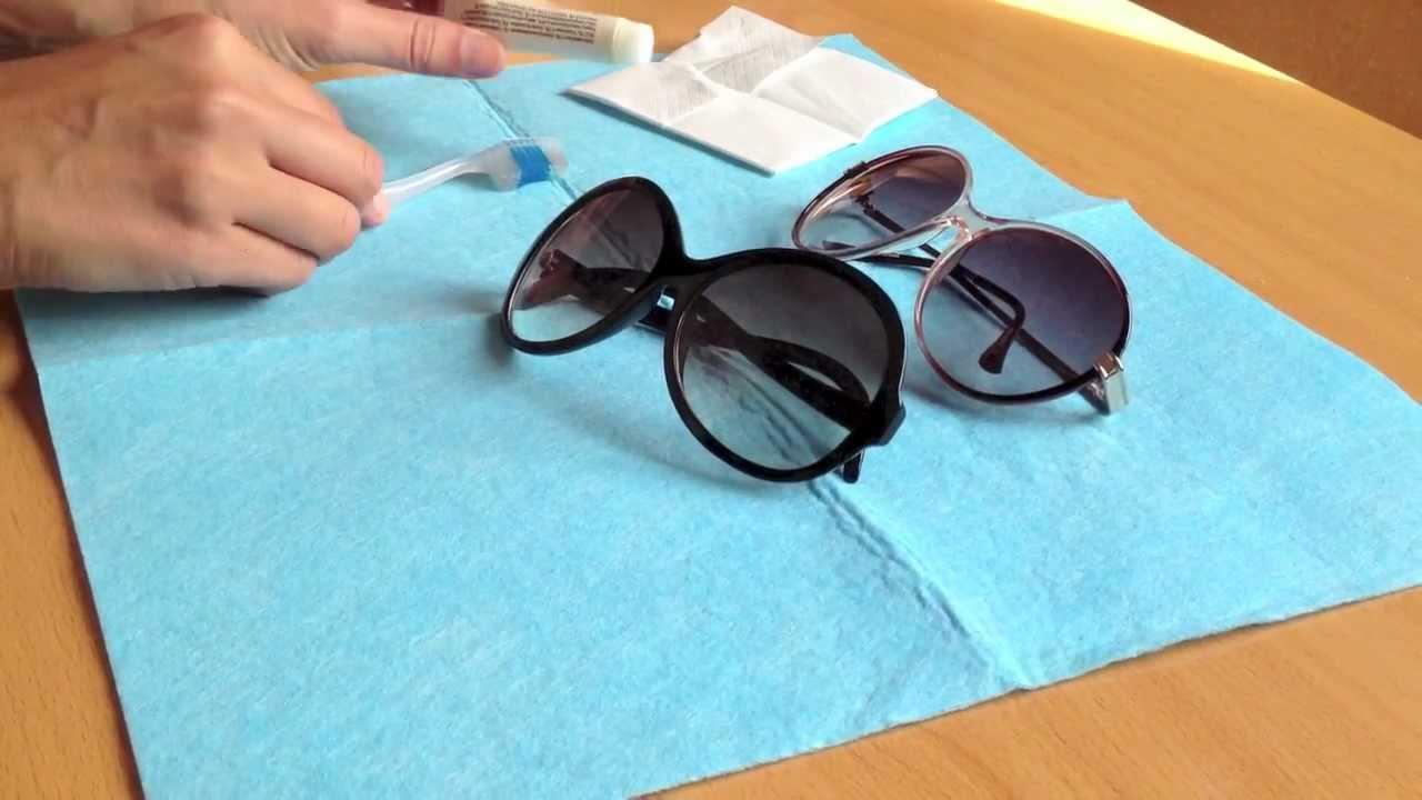 Cómo limpiar las gafas de sol | facilisimo.com - YouTube