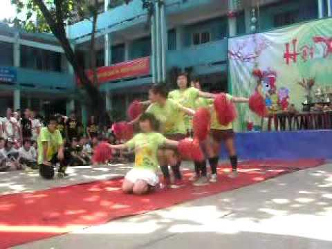 Nhảy cổ động 9a3 Ngô Sĩ Liên