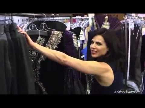Lana Parrilla Gives us an Exclusive Set Tour of Once Upon a Time