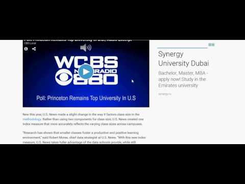 U S  News & World Report Releases 2017 Best Colleges Rankings