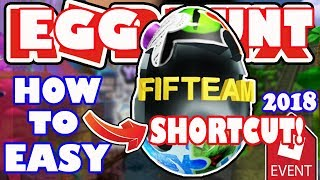 [EVENT] Shortcut for Fifteam Egg Obby Fractured Space - Roblox Egg Hunt 2018 - Skip Hardest Levels!