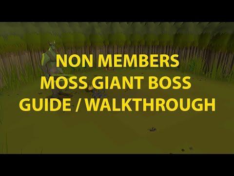 OSRS F2P Moss Giant Boss Guide (Bryophyta)