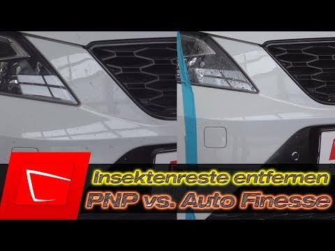PNP Insektenentferner vs. Auto Finesse Citrus Power - Insekten einfach und günstig entfernen