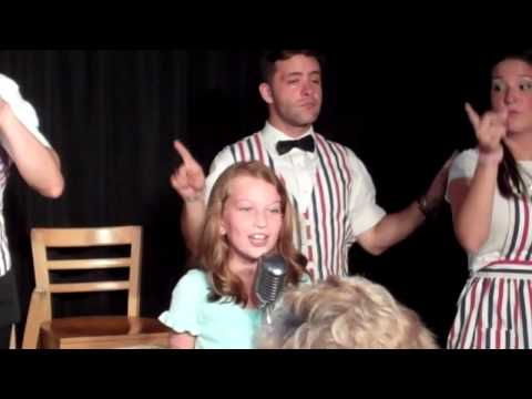 Lily Connelly's Music Man Debut!