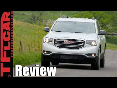 2017 gmc acadia all terrain on and off road review youtube. Black Bedroom Furniture Sets. Home Design Ideas