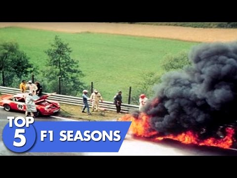 Top 5 F1 Seasons