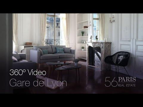 360 Video Paris Apartment - Gare de Lyon