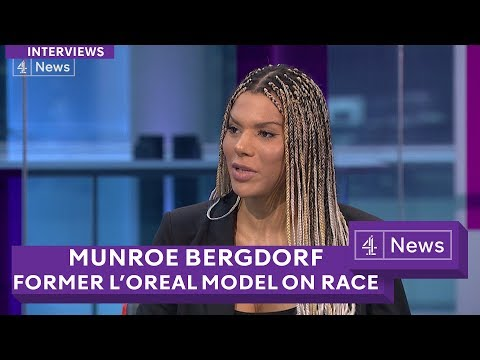 Munroe Bergdorf: L'Oreal transgender model on 'white supremacy'