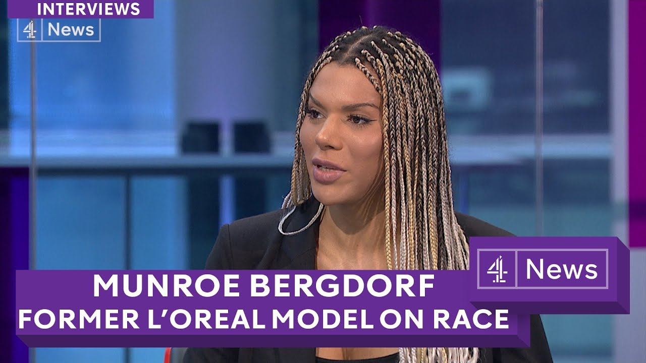 Munroe Bergdorf: L'Oreal transgender model on 'white supremacy ...