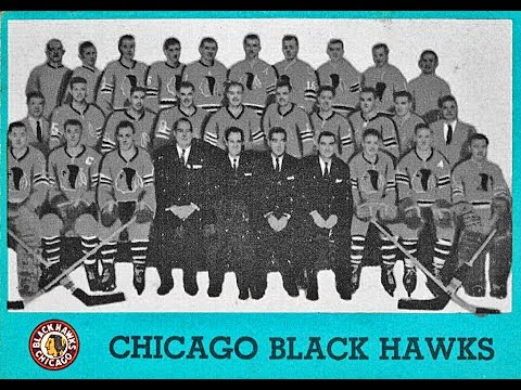 Chicago Blackhawks Vintage Hockey Cards